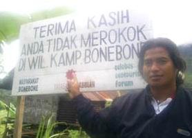 Bone-Bone, Desa Bebas Rokok Pertama Dunia