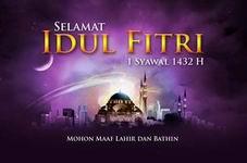 Koleksi Kartu Ucapan Lebaran Idul Fitri 1432 H