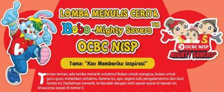 Lomba Menulis Cerita Bobo Untuk SD dan SMP