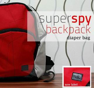 HDY Diaper Bag : Super Spy Backpack