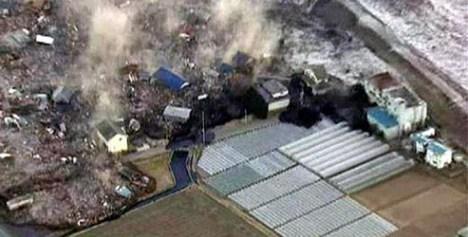 Foto dan Video Gempa dan Tsunami di Miyagi, Jepang 11 Maret 2011