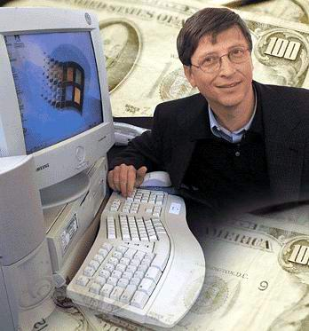 William Gates III / Bill Gates – (Pendiri Microsoft)