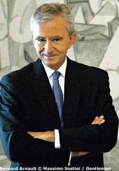 Bernard Arnault (Konglomerat Perancis, pemegang merk Louis Vuitton, Dior, dan Fendi)