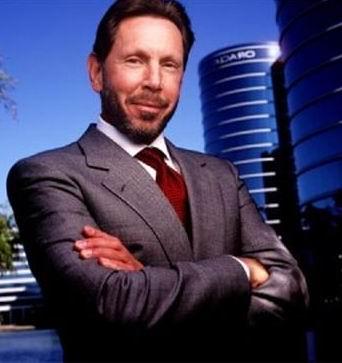 Lawrence Ellison (Pendiri Oracle, perusahaan software)