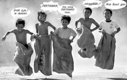 10 Permainan Klasik Khas Indonesia Yang Terlupakan :  BALAP KARUNG
