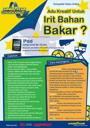 Bikin Video Hemat BBM, Raih iPad