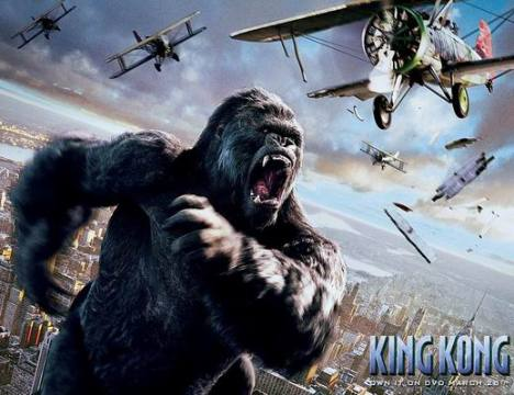 Inilah Sebabnya King Kong Digunakan Untuk Nama Kera Raksasa