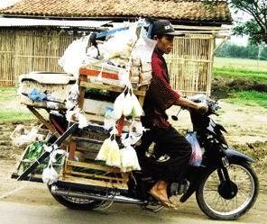 Pedagang Keliling, Indonesia Banget!