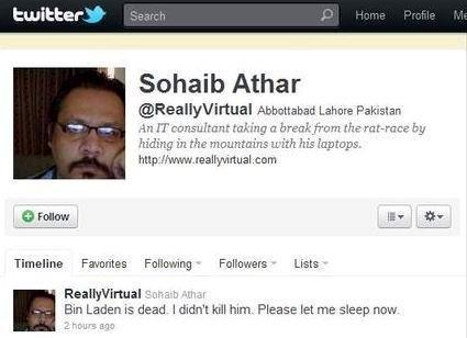 Inilah Twitter Pertama yang Laporkan Penyerbuan Osama Bin Laden