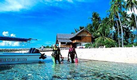 Pesona Wakatobi, Surganya Diving dan Snorkeling