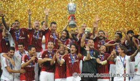 Super Coppa Italia : AC Milan 2-1 Inter