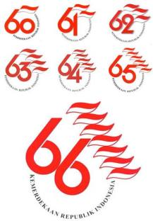 Logo Peringatan Hari Kemerdekaan Republik Indonesia