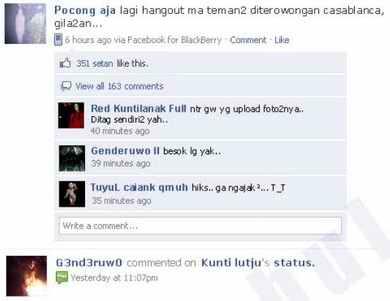Facebook Setan