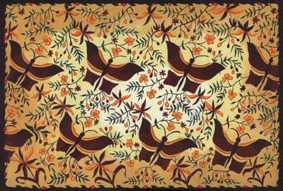 Eloknya Batik Madura di Atas Kain Sutra