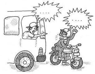 Beginilah Cara Kaum Alay Mengendarai Motor