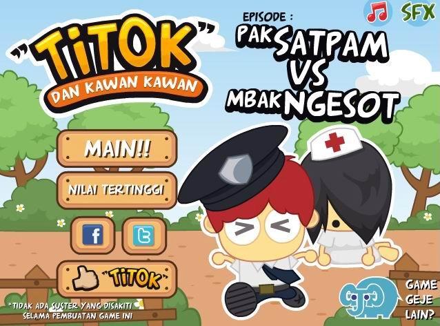 Game Satpam vs Suster Ngesot Bandung