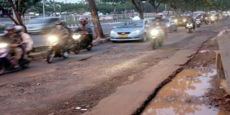 Jalan Batik di Jakarta