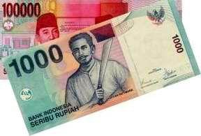 Uang Seribu Seratus Ribu Rupiah